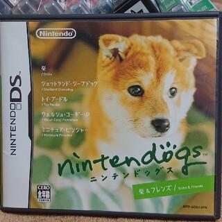 ニンテンドーDS(ニンテンドーDS)のnintendogs(ニンテンドッグス) DS(携帯用ゲームソフト)
