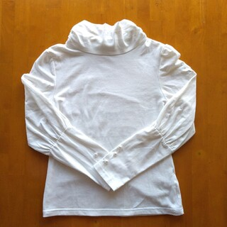 キャサリンコテージ(Catherine Cottage)の女の子 ハイネック カットソー 姫袖 140(Tシャツ/カットソー)