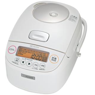 ゾウジルシ(象印)の新品未使用極め炊き NP-BJ10-WA [ホワイト](炊飯器)
