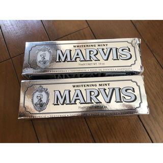 マービス(MARVIS)の新品!MARVIS歯磨き粉 2箱セット(歯磨き粉)