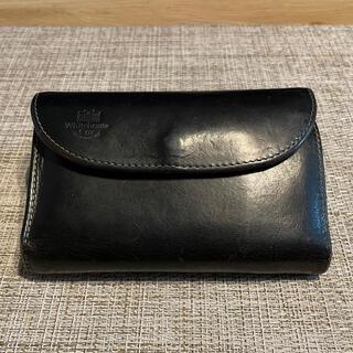 ホワイトハウスコックス(WHITEHOUSE COX)のWhitehouse Cox / HOLIDAY LINE 三つ折り財布(折り財布)