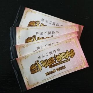 ヴィレッジヴァンガード 株主優待 48000円分(ショッピング)