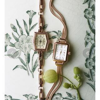 アガット(agete)の美品♪ agete アガット アンティーク調時計(腕時計)