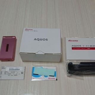 AQUOS - AQUOS SH-01J ガラホ docomo ドコモ 箱付き