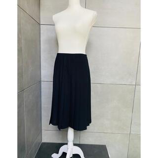 シャネル(CHANEL)のシャネル プリーツスカート38(ひざ丈スカート)
