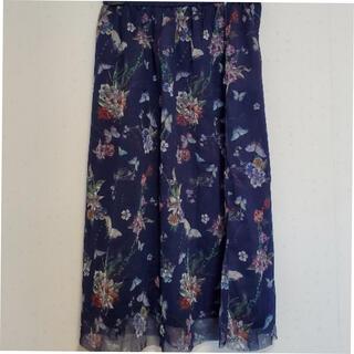 スカラー(ScoLar)のイズスカラー チュールスカート(ロングスカート)