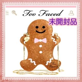 トゥフェイス(Too Faced)の【新品・未開封】Too faced ジンジャーブレッドマン(コフレ/メイクアップセット)