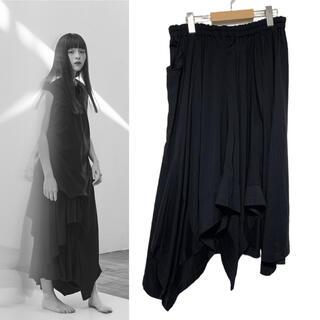 ヨウジヤマモト(Yohji Yamamoto)の  ヨウジヤマモト  Ground Y 変形スカート 【1534】(ロングスカート)