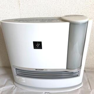 シャープ(SHARP)のシャープ 加湿セラミックファンヒーター HX-C120-W(電気ヒーター)