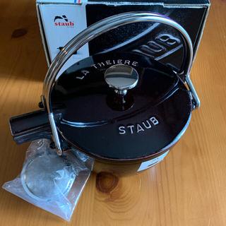 ストウブ Staub ラウンド ティーポット 16.5cm 茶こし付き
