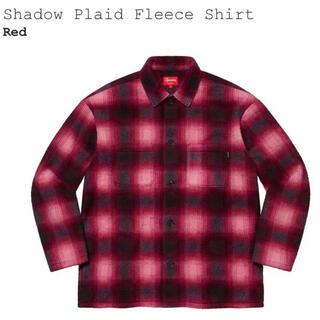 シュプリーム(Supreme)のSupreme Shadow Plaid Fleece Shirt 赤 XL (シャツ)