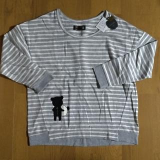 フランシュリッペ(franche lippee)のフランシュリッペ 大きいTシャツ パンダくま タグ付 未使用(Tシャツ(長袖/七分))