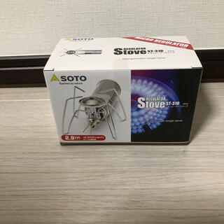 シンフジパートナー(新富士バーナー)のSOTO st-310 新品未使用(ストーブ/コンロ)