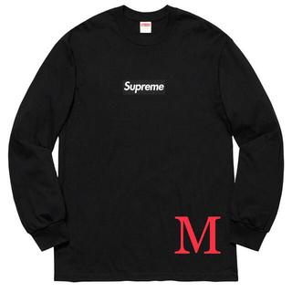 シュプリーム(Supreme)のM Supreme Box Logo L/S Tee ロンT(Tシャツ/カットソー(七分/長袖))