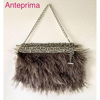 アンテプリマ(ANTEPRIMA)のアンテプリマ フェザー 3-way ワイヤーバッグ(ハンドバッグ)