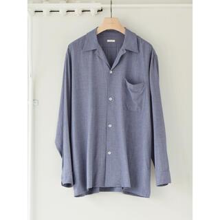 コモリ(COMOLI)のCOMOLI 20AWヴィスコースウールオープンカラーシャツ サイズ3 新品  (シャツ)