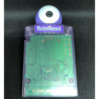 ゲームボーイ(ゲームボーイ)のポケットカメラ スケルトンパープル ゲームボーイソフト(携帯用ゲームソフト)