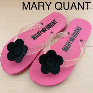 MARY QUANT - マリークワント ビーチサンダル