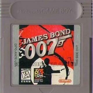 ゲームボーイ(ゲームボーイ)のゲームボーイソフト 007ジェームスボンド(家庭用ゲームソフト)