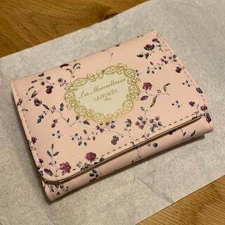 レメルヴェイユーズラデュレ(Les Merveilleuses LADUREE)の三つ折りミニ財布(折り財布)