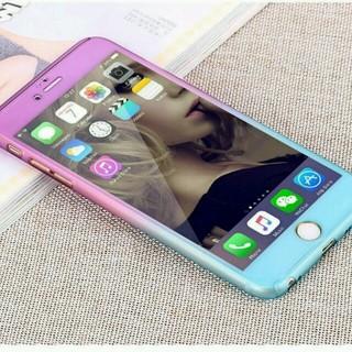 iphone6/6s パープル&ブルー(iPhoneケース)