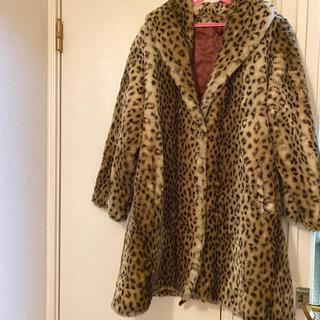 ロキエ(Lochie)のフランス製 ヴィンテージ    レオパードコート(毛皮/ファーコート)