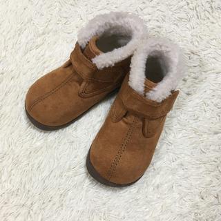 ムジルシリョウヒン(MUJI (無印良品))の無印良品 ムートンブーツ 14cm(ブーツ)