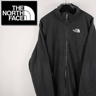 ザノースフェイス(THE NORTH FACE)の【古着】ノースフェイス フリースジャケット メンズ グレー L(ニット/セーター)
