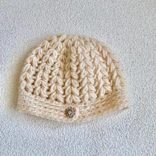 ミナペルホネン(mina perhonen)のミナペルホネン  ヒトミシノヤマ  htomi shinoyamaのニット帽(ニット帽/ビーニー)