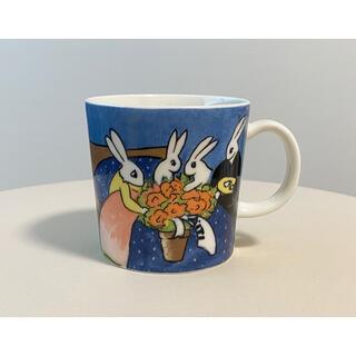 アラビア(ARABIA)のMother Rabbit 2003年 ヘルヤ マグカップアラビア マグ(グラス/カップ)