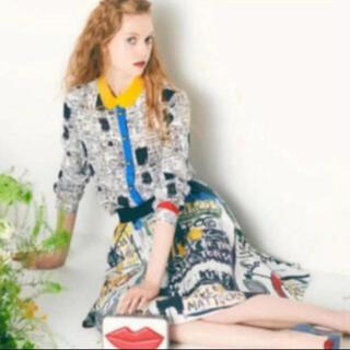 アリスアンドオリビア(Alice+Olivia)のアリスオリビア×バスキア コラボシャツ(シャツ/ブラウス(長袖/七分))