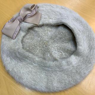 トッカ(TOCCA)のトッカ リボン ベレー(ハンチング/ベレー帽)