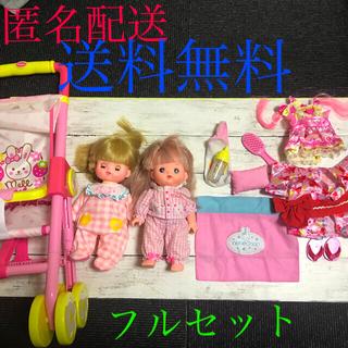 パイロット(PILOT)のねねちゃん ぽぽちゃん、ベビーカー、お洋服等セット(ぬいぐるみ/人形)
