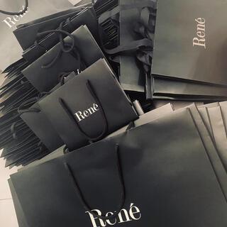 ルネ(René)のRene ルネ ショッパー 紙袋 CHANEL シャネル FOXEY フォクシー(その他)