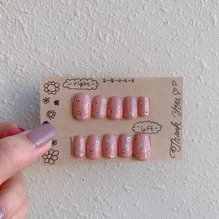 お花だらけ♡ネイルチップ(つけ爪/ネイルチップ)