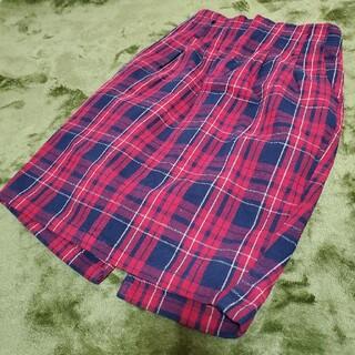ヘザー(heather)の『Heather』チェックスカート(ひざ丈スカート)
