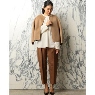 UNITED ARROWS - 【UNITED ARROWS 】ASTRAET ノーカラー ジャケット
