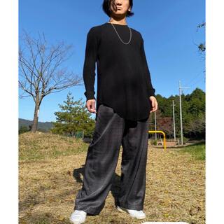 ラッドミュージシャン(LAD MUSICIAN)のLAD MUSICIAN カットソー 44 グレー(Tシャツ/カットソー(七分/長袖))