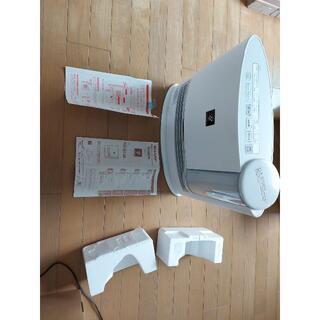 シャープ(SHARP)のSHARP シャープ セラミックヒータ 加湿機能付電気暖房機 HX-G120-W(電気ヒーター)