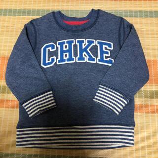 ニシマツヤ(西松屋)の【新品】CHKE 裏起毛トレーナー 95cm(Tシャツ/カットソー)