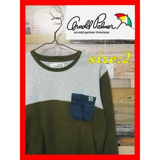アーノルドパーマー(Arnold Palmer)のArnold Palmer(アーノルドパーマー) 長袖カットソー(Tシャツ/カットソー(七分/長袖))