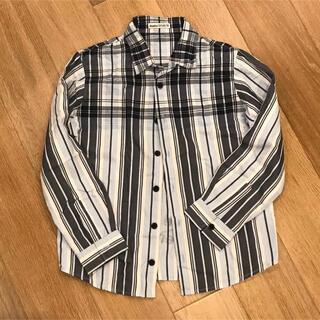 ベベ(BeBe)のべべ チェックシャツ  130 センチ男の子(ブラウス)