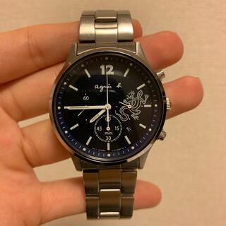 アニエスベー(agnes b.)のアニエスベー メンズ ソーラー 腕時計(腕時計(アナログ))