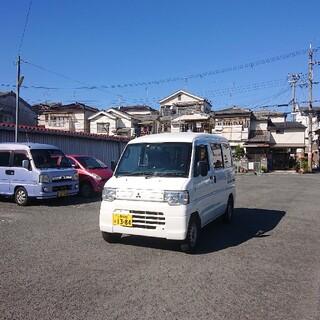 ミツビシ(三菱)の商談中(車体)