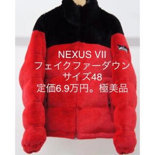 ネクサスセブン(NEXUSVII)の定価6.9万 NEXUSVII SUPREME ダウンジャケット バルトロ(ダウンジャケット)