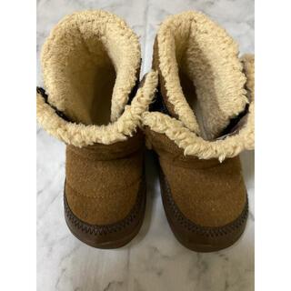 ムジルシリョウヒン(MUJI (無印良品))のムートンブーツ キッズ 14センチ(ブーツ)
