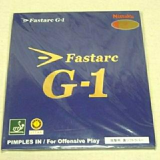 ニッタク(Nittaku)のファスターク G-1 赤 厚(卓球)