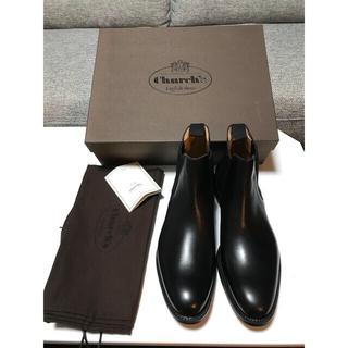 チャーチ(Church's)の新品未使用 Church's チャーチ サイドゴア ブーツ ブラック Uk 7(ブーツ)