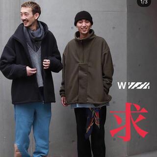 ワンエルディーケーセレクト(1LDK SELECT)の【求】IS-NESS × WISM  フェイクプルオーバーフリース  (ブルゾン)
