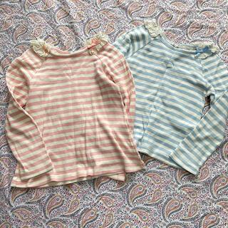 アンバー(Amber)のamberHOME ボーダーTシャツ 2枚(Tシャツ/カットソー)
